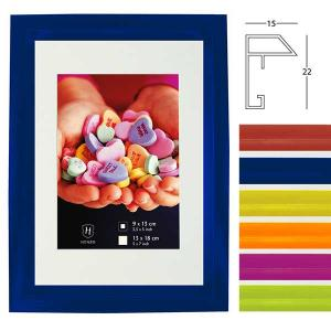 Kunststoff-Bilderrahmen Fresh Colour mit Passepartout