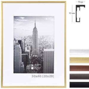 Alurahmen Manhattan mit Passepartout