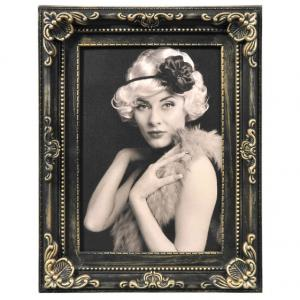 Kunststoff-Bilderrahmen Antique Barock Gold