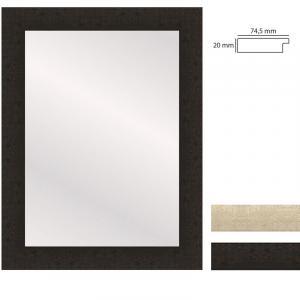 Wandspiegel WOODSTYLE - 50x70 cm