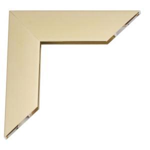 Mega Alu-Bilderrahmen Gold glänzend