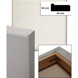Bespannte Keilrahmen, Profil 4,5x1,9 cm Sonderzuschnitt