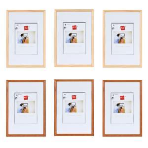Echtholz Wechselrahmen Serie 500, 6er-Set