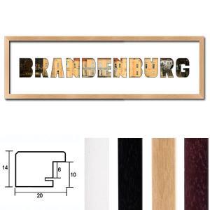 """Regiorahmen """"Brandenburg"""" mit Passepartout"""