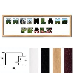 """Regiorahmen """"Rheinland-Pfalz"""" mit Passepartout"""