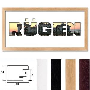 """Regiorahmen """"Rügen"""" mit Passepartout"""