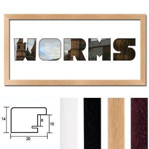 "Regiorahmen ""Worms"" mit Passepartout"