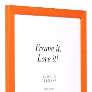 Holz-Bilderrahmen Top Pro orange