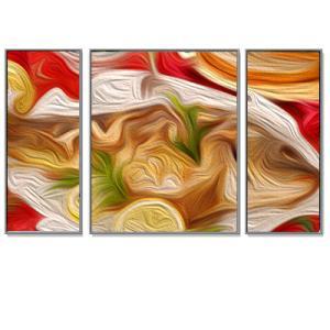 Triptychon Bilderrahmen-Set Alurahmen Quadro