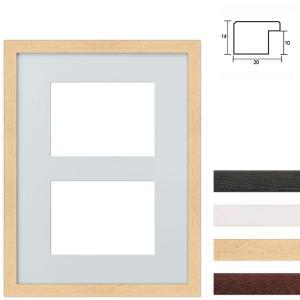 2er Galerierahmen aus Holz in 30x40 cm
