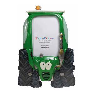 "Fun Frame ""Traktor grün"""