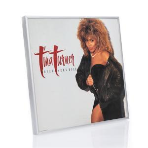 Alurahmen Quadro f�r Vinyl-Schallplatten mit Cover