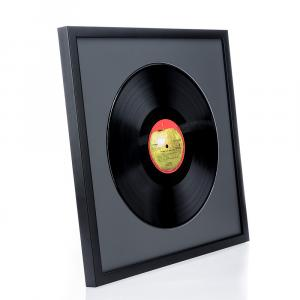 Holzrahmen Top Cube für Vinyl-Schallplatten