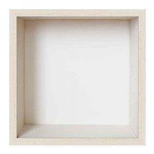 Spardosenrahmen Weiß mit weißer Box
