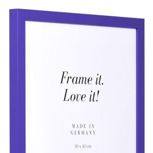 Holzrahmen Top Cube lila