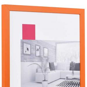 Holzrahmen Top Cube orange