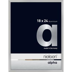 Alurahmen Alpha Silber matt 18x24 cm