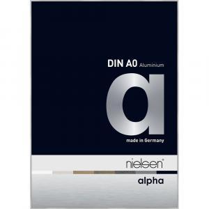 Alurahmen Alpha Silber matt 84,1x118,9 cm (A0)