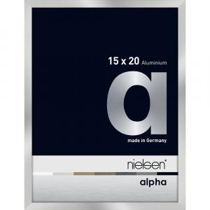 Alurahmen Alpha Silber 15x20 cm