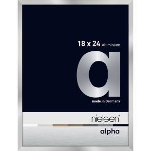 Alurahmen Alpha Silber 18x24 cm