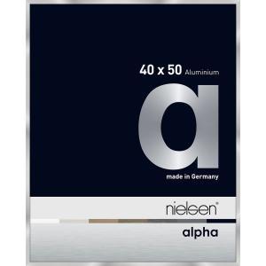 Alurahmen Alpha Silber 40x50 cm