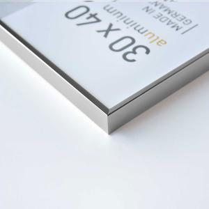 Alurahmen Pixel Silber glanz