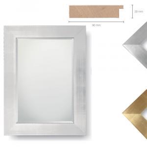 Holz-Spiegel Glauber