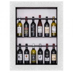 Bilderrahmen für Weinflaschen Sizilien