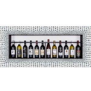 Bilderrahmen für Weinflaschen Venetien
