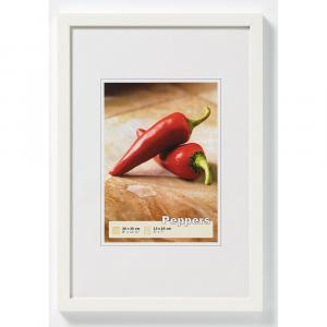Holzrahmen Peppers weiß