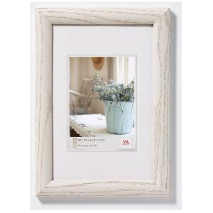Holz-Bilderrahmen Interieur weiß
