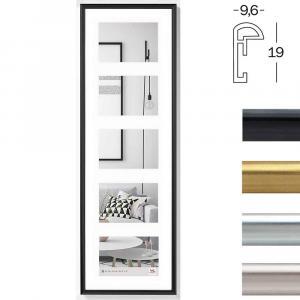 Kunststoff-Galerierahmen Geleria 5 Bilder