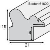 Thumbnail von Holz-Bilderrahmen Bosten 2,1 Profil
