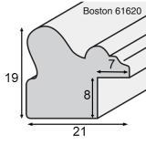 Thumbnail von Holz-Bilderrahmen Bosten 2,1 - Sonderzuschnitt Format Bild 2
