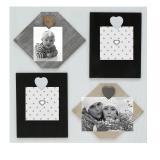 Thumbnail von Weiße Memowand mit Magneten für 4 Bilder oder Karten Profil