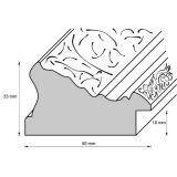 Thumbnail von Barockrahmen-Zuschnitt Rayners Lane Profil