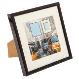 Thumbnail von Kunststoff-Bilderrahmen Puro mit Passepartout schwarz Bild 2