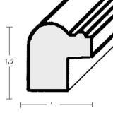Thumbnail von Holzrahmen Reus nach Maß Profil