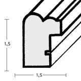 Thumbnail von Holzrahmen Santa Maria nach Maß Profil