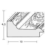 Thumbnail von Barockrahmen Toledo nach Maß Profil