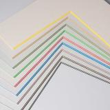 Thumbnail von 2,2 mm ColorCoreStripe Passepartout als Maßanfertigung Bild 3