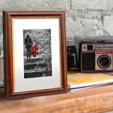Thumbnail von Holz-Bilderrahmen Classic braun-gold Bild 3