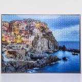 Thumbnail von Kunststoff-Puzzlerahmen für 1500 Teile platin Bild 3