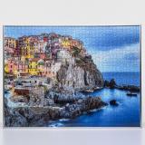 Thumbnail von Kunststoff-Puzzlerahmen - Sonderformat bis max. 100x100 cm silber Bild 3