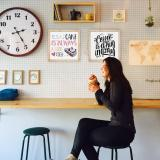 Thumbnail von Bilderrahmen mit Spruch - Coffee Is A Hug In A Mug Bild 4