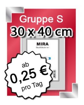 Alu-Bilderrahmen in 30x40 mieten