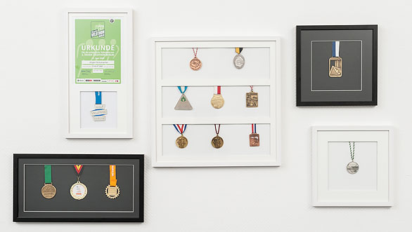 medaillenrahmen allesrahmende