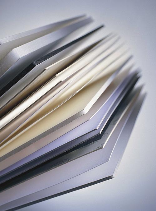 S�urefreie Kartons von Nielsen als R�ckwand f�r Bilderrahmen