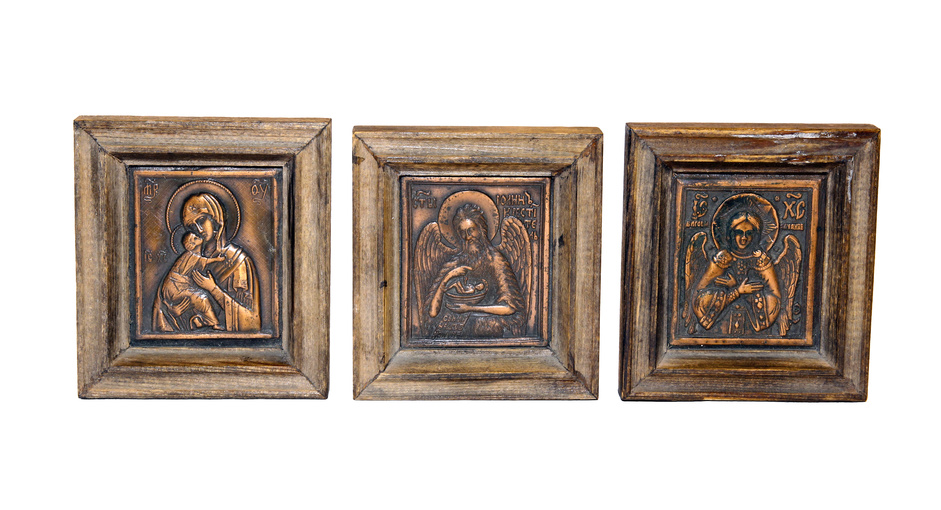 Antike Holzrahmen