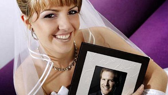 Bilderrahmen zur Hochzeit